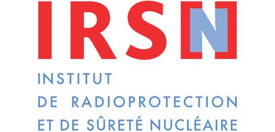 Institut de Radioprotection et de Sûreté Nucléaire logo
