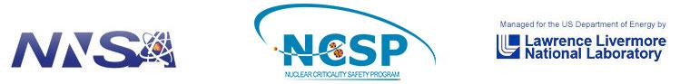 Logos of NISA, NCSP and LLNL